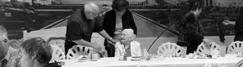 Senior celebrating 100th Birthday party
